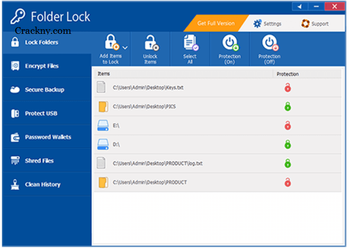 Folder Lock Crack 7.8.6 With Serial Key [Activated] Download